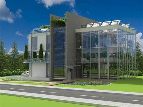 green building villa sera sustainable design of the future