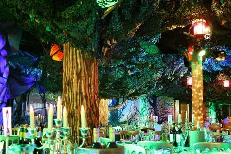 enchanted forest prom theme   Enchanted Forest Wedding