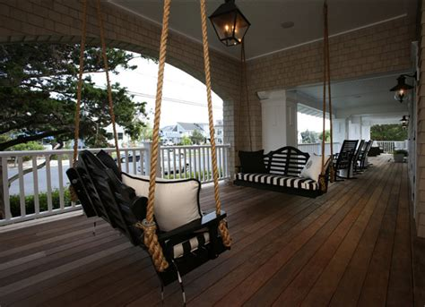 front porch swings ideas traditional restored shingle home home bunch interior