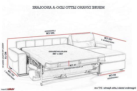 misure divano divani misure divani letto grancasa superba