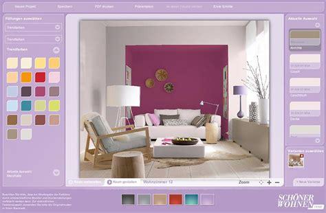 welche farbe passt zu grau wand farbdesigner sch 214 ner wohnen so funktioniert er