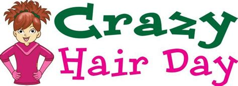 crazy hairstyles clipart crazy hair day clip art from pto today pto today clip