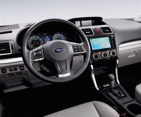 subaru forester 2018 interior 2018 subaru forester redesign release date changes