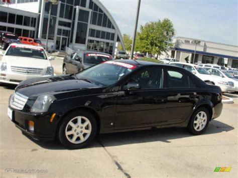 2006 black cadillac cts 2006 black cadillac cts sedan 26210556 gtcarlot