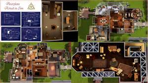 Charmed House Floor Plan by Charmed Huis Voor The Sims 2 Dream House Plans