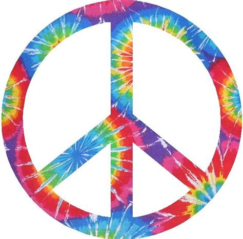 Gamis Tiedye 1 tie dye peace sign board vinyl graphic decals ebay