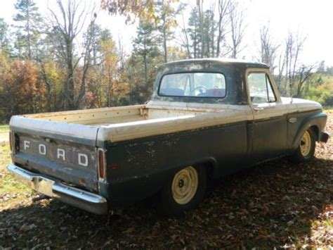 sell   ford truck  rat rod  farm truck run drive  hei ignition auto