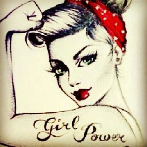 girl power tattoo power ideas