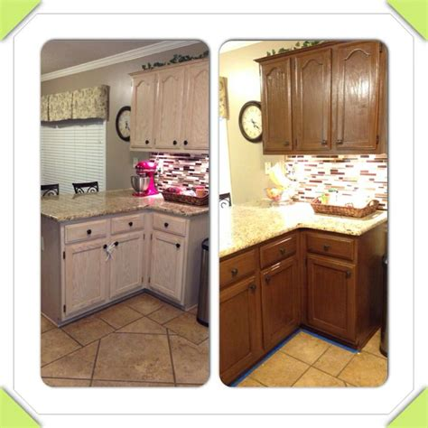 almond kitchen cabinets rustoleum cabinet transformations toasted almond with glaze woodworking pinterest glaze