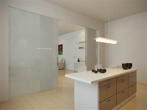 white rectangle kitchen white room partition connected by rectangle white wooden