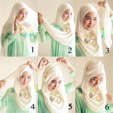 tutorial jilbab hias 7 tutorial hijab yang akan membuat kamu anggun dan tambah