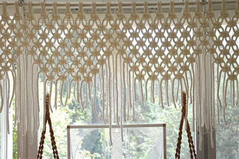 Macrame Rope Patterns - curtains macram 233 101