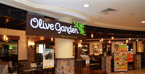 olive garden at mid valley megamall restaurant review