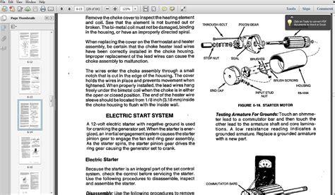 pdf service manual for kohler rv 28 pages tp 5250
