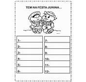 Atividades Sobre Festas Juninas Para Educa&231&227o Infantil