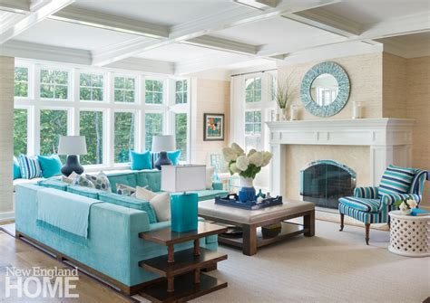 House Of Turquoise Living Room by Plum Interiors