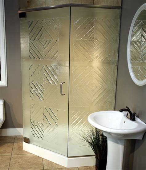 Frosted And Textured Glass Options For Shower Doors Textured Glass Shower Doors