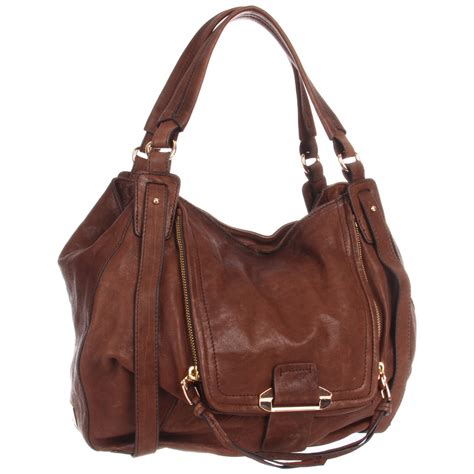 Kooba Devin Shoulder Bag by Kooba Kooba Jonnie Shoulder Bag In Brown Lyst