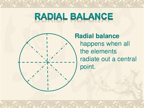 definition of radial pattern in art balance in art