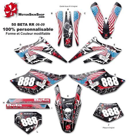 Beta Aufkleber Set by Kit D 233 Co 50 Beta Rr 06 09 Personnalisable 50cc 224 Boite Perso