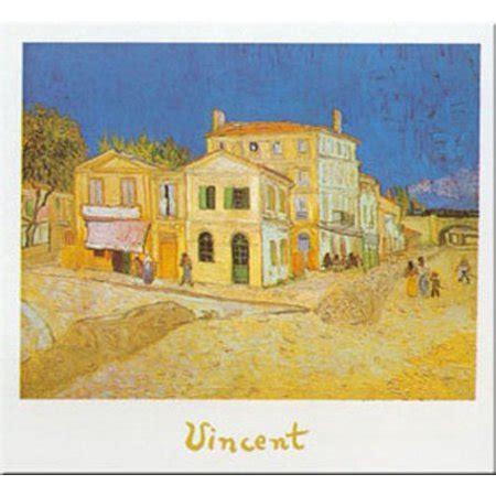 la casa gialla gogh la casa gialla arles by vincent gogh 9 5x12 print