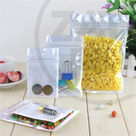 Plastik Klip Batu 5 X 7 Cm Tebal jual plastik klip plastik ziplock putih 8x13 cm packaging kemasan zatopack