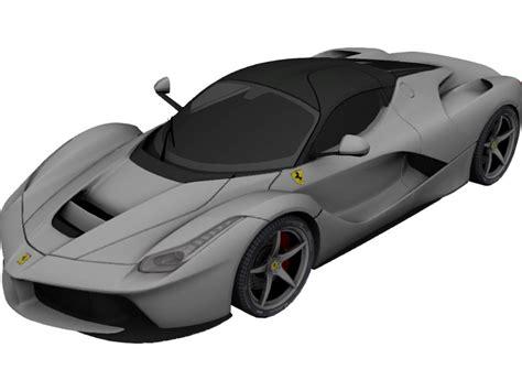 La Ferrari Model by Laferrari 3d Models