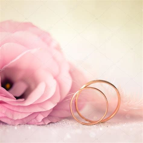 Wedding Background Gold by Wedding Background With Gold Rings And Beautiful