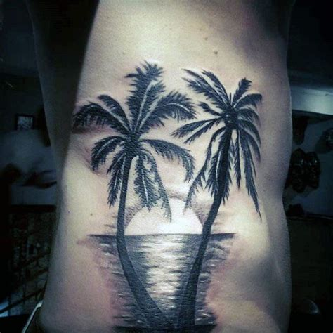 palm tree sleeve tattoo designs 100 palm tree tattoos for tropical design ideas