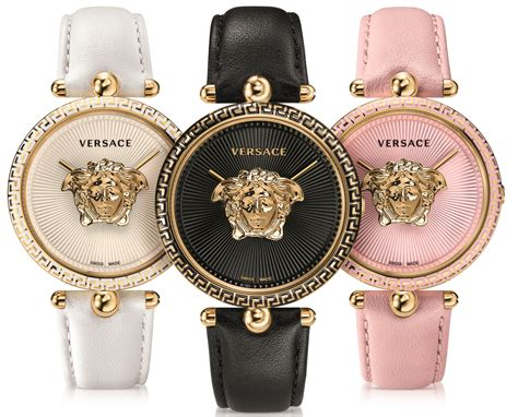 versace presents floating golden medusa within its palazzo