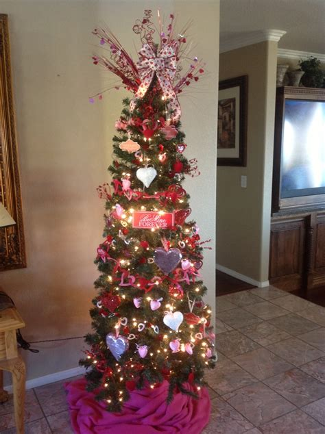 valentine tree holiday stuff pinterest