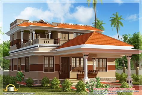 style house 3 bedroom 1700 square feet kerala house design home