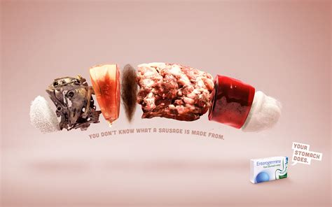 Photo Ad Sanofi Print Advert By Publicis Sausage Ads Of The World