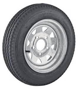 Trailer Tire 13 Inch 13 Inch Galvanized Steel Spoke Trailer Wheel 5 X 4 5 And