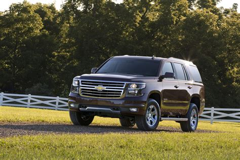 chevrolet unveils z71 road package for 2015 tahoe and