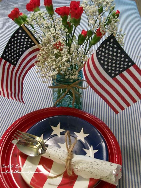 4th of july table 72 best images about july fourth 4th of july on