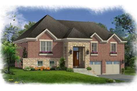 What Is A Split Foyer Home house plans with bi level split foyer by studer residential designs