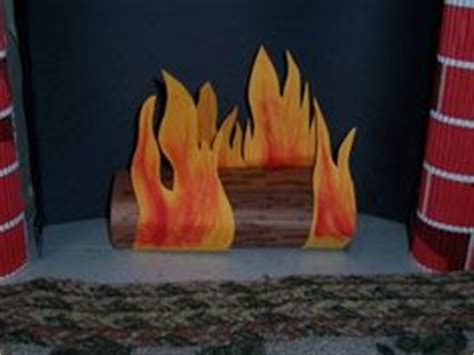 How To Make A Fireplace Out Of Paper - 1000 images about faux place on