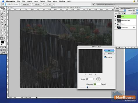 tutorial photoshop mac adobe photoshop very simple tutorial a squall of rain at