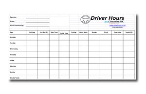 Drivers Hours Spreadsheet Driver Hours Drivers Log Book Template