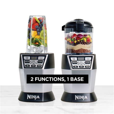 ninja kitchen appliances ninja nn101 nutri ninja 174 nutri bowl duo with auto iq
