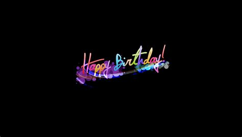 happy birthday digital design wallpaper new hd wallpapers of happy birthday wallpaper cave