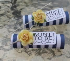wedding favors ideas unique mint wedding favors modwedding