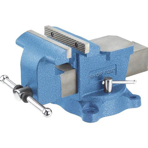 6 inch bench vice cls vises shop fox 6 inch bench vise with swivel
