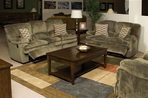 easton  piece reclining sofa loveseat set  sage