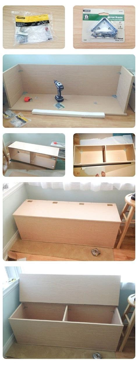 Diy Storage Bench Diy Storage Bench Craft Ideas