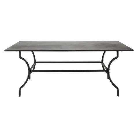maison du monde lade da tavolo table de jardin en fer forg 233 marron 6 8 personnes l200