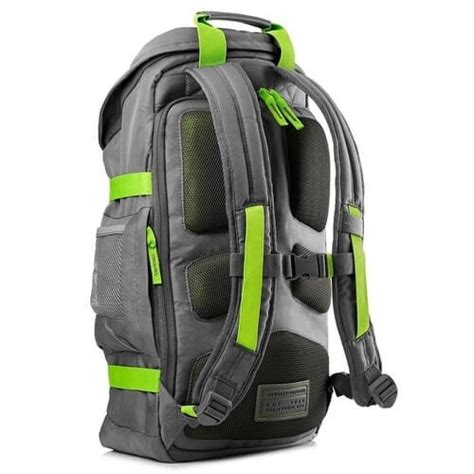 Hp 15 6 Inch Odyssey Backpack Gray never stop exploring with the hp 15 6 green gray odyssey