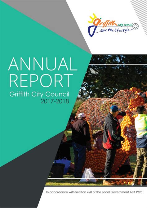 griffith city council annual community report   griffith city council issuu