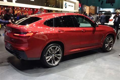 new bmw x4 2018 new 2018 bmw x4 revealed pictures auto express